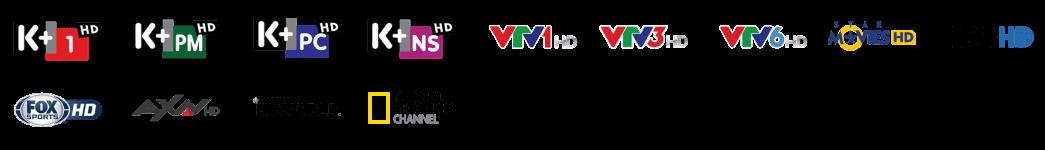 Gói các kênh HD siêu nét tuyệt đỉnh Truyền Hình K+