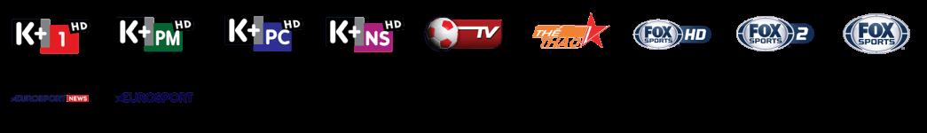 Gói kênh thể thao độc quyền Truyền Hình K+