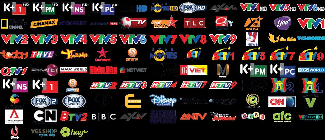 Kênh K+ thuộc bản quyền Công ty TNHH truyền hình số vệ tinh Việt Nam